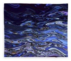 Abstract Reflections - Digital Art #2 Fleece Blanket