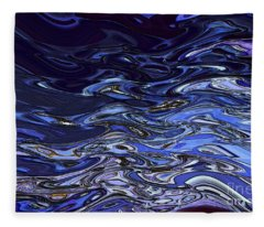 Abstract Reflections - Digital Art #2 Fleece Blanket