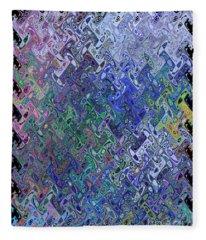 Abstract Reflections Fleece Blanket