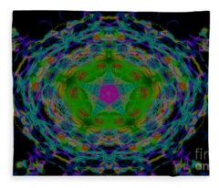 Abstraction Fleece Blanket