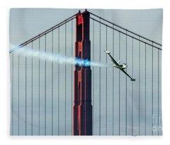 Ace Maker And The Golden Gate Fleece Blanket