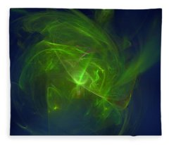 Acidic Voulge Fleece Blanket
