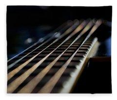 Acoustic Bokeh Fleece Blanket