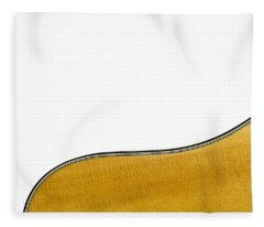 Acoustic Curve Fleece Blanket
