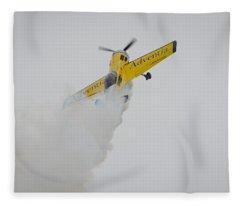 Aerobatics At Cuatro Vientos II Fleece Blanket