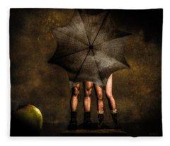 Umbrella Fleece Blankets