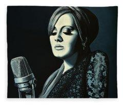 Adele Fleece Blankets