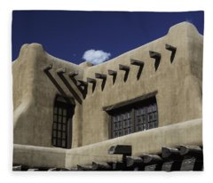 Adobe Architecture 01 Fleece Blanket