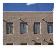 Adobe Architecture II Fleece Blanket