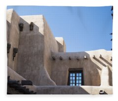 Adobe Sky Fleece Blanket