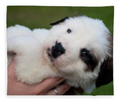 Adorable Hand Full Fleece Blanket