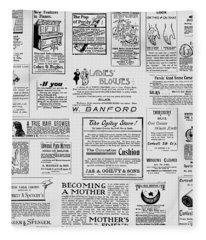 Advert - For The Ladies Fleece Blanket