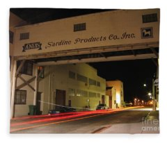 Aeneas Overpass On Cannery Row Fleece Blanket