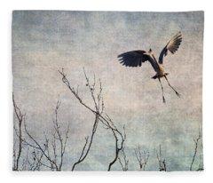 Aerial Dance Fleece Blanket