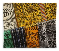 African Prints Fleece Blanket
