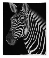 African Stallion Fleece Blanket