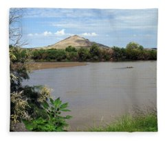 After The Rains At Picacho Peak Fleece Blanket