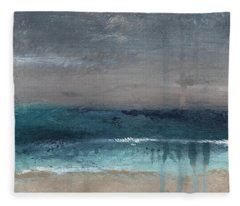 Abstract Landscape Paintings Fleece Blankets