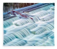 White Rock Lake Dallas 031015 Fleece Blanket