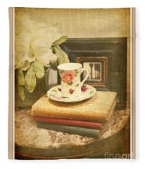 Afternoon Tea Fleece Blanket
