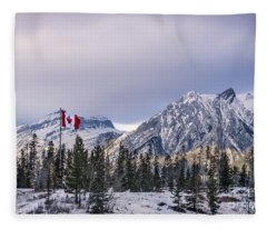 Ageless Northern Spirit Fleece Blanket