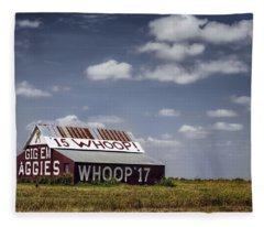 Aggie Barn Fleece Blanket
