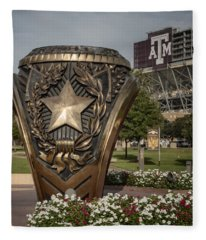 Aggie Ring Fleece Blanket