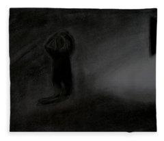 Agony Of The Outside World 1 Fleece Blanket