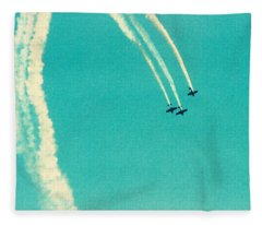 Air Waves Fleece Blanket