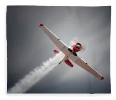 Aircraft In Flight Fleece Blanket