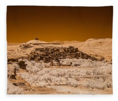 Ait Benhaddou Fleece Blanket