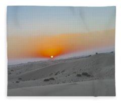 Al Ain Desert 12 Fleece Blanket