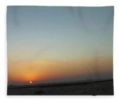 Al Ain Desert 2 Fleece Blanket