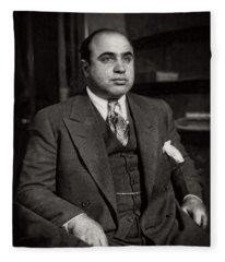 Al Capone - Scarface Fleece Blanket