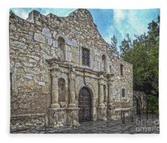Alamo Hdr Fleece Blanket