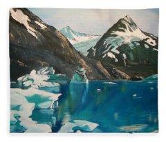 Alaska Reflections Fleece Blanket