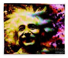 Albert Einstein - Why Is It That Nobody Understands Me - Yet Everybody Likes Me Fleece Blanket
