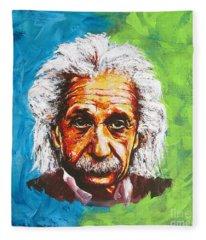 Albert Tribute Fleece Blanket