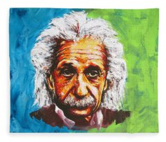 Albert Tribute Fleece Blanket