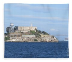 Alcatraz Island Fleece Blanket
