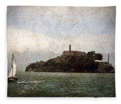 Alcatraz Island Fleece Blanket