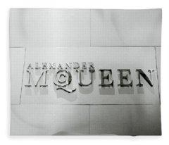 Alexander Mcqueen Fleece Blanket