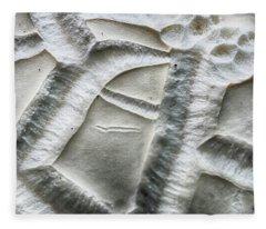 Alien Surface Fleece Blanket