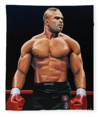 Alistair Overeem Fleece Blanket