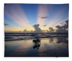 All Dogs Go To Heaven  Fleece Blanket