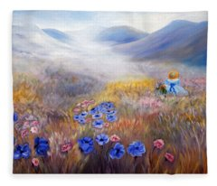 All In A Dream - Impressionism Fleece Blanket