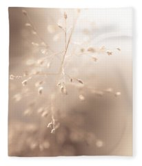 All Tenderness. Grass Art Fleece Blanket