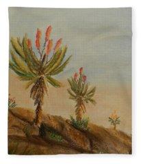 Aloes Fleece Blanket
