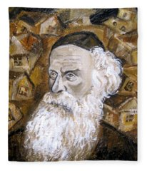 Alter Rebbe Fleece Blanket