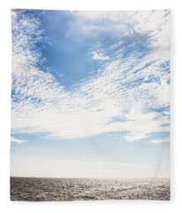 Altocumulus At Sea Fleece Blanket